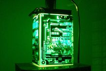 Projects to Try / #lamp #light #recycle