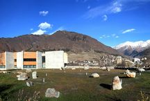 Svaneti Museum | სვანეთის მუზეუმი / The Svaneti Museum is located in north-western Georgia, in the recently-renovated capital city of the Svaneti region, Mestia. The museum was established in 1936 as a Local Museum.  The Museum's collections include important archeological and ethnographic materials, a rich collection of Georgian manuscripts, and Georgian Orthodox icons painted in the unique Svan style. It also houses ancient objects dating back to early empires and cultures that made their mark on Georgian history.