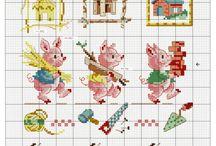 Cross stitch - Sprookjes en Speelgoed
