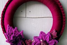 DOOR TRIM, CROCHET WREATH ~kapı susleri