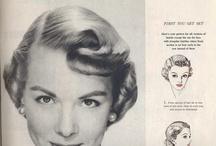 vintage - peinados / Ideas de peinado vintage, época