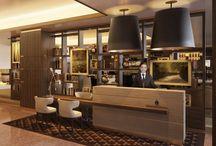 Hotel - Reception + Desk
