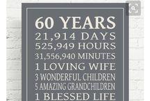 60 verjaarsdag