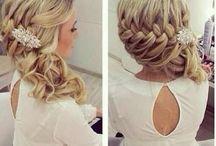 wedding hair / by Stephanie Richards