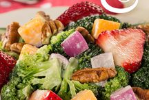 Healthy Salad Recipes / Who says a healthy salad recipe has to be boring? When it comes to making a flavorful salad, the options are endless. Our collection of salads includes green salad recipes, pasta salad recipes, chicken salad recipes, fruit salad recipes, and more!