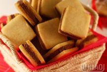 Biscoitos e Chips / Biscoito de Polvilho, Cookies, Biscoito Integral, Pretzel, Chips, Enroladinho de Goiaba, Bolacha