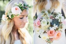 Lydia and Mitchell / Wedding/Florals