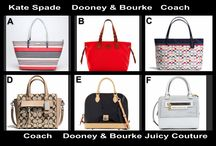 Monday Fashion Special June 16 / Designer Bags up for auction tonight at 10 PM ET @OneCentChic