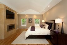 Master Suite Makeovers / Our team has made-over multiple master bedrooms, transforming outdated and cramped bedrooms into luxe and spacious suites.