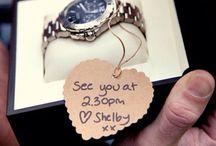 cute ideas for boyfriend/husband / by Amberly Dortch
