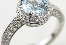 W E D D I N G S - Inspiration - Engagement and Wedding Rings
