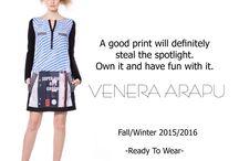 Venera Arapu Fall/Winter 2015 / Venera Arapu Fall/Winter 2015 looks