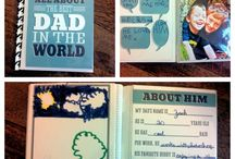 Father's Day / Avoid the cliche & get (or make) Dad something he'll really love.  Ideas on unique cards, DIY gifts, and more!