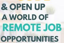 Work From Home Jobs & Remote Job Opportunites