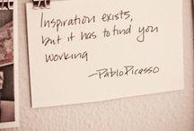 I love inspiration