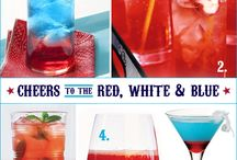 Red, White & Blue Summer / Recipes, decor & other star spangled ideas for Memorial Day, Flag Day and the 4th of July.