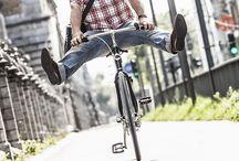 Mijn korte ritten - My short journeys / Voor korte ritten je auto laten staan en stappen en fietsen!  De hele maand juni, samen met Steven Goegebeur.