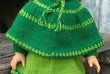 Knitting for doll