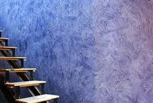 Venetian Plaster & Stencil Work / #venetianplaster #plaster