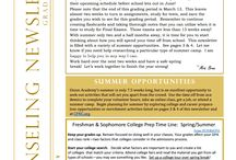 Freshman Newsletter