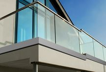 Frameless Glass U / Glass railings give a futuristic look to any space.  Here you can see our frameless glass system in action.