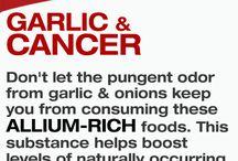 garlic + cancer
