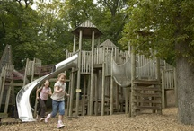 Adventure Play Area at Chatsworth. Derbyshire Holiday Cottages