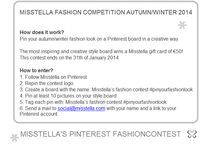 misstela's fashion contest #pinyourfashionlook / misstela's fashion contest #pinyourfashionlook autumn/winter 2014