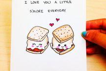 Cute cards / by Katie Friesen
