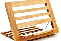 Wooden Book Stand Reading Rest Holder Adjustable Display Stand iPad Keeper