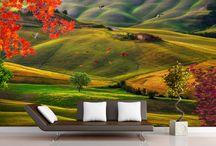 Papier peint photo paysage