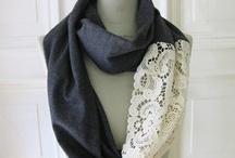 Sjaals maken / Fournituren ter inspiratie   Heel veel leuke ideeën voor het decoreren van sjaals.
