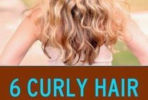 curly hair guide