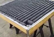 Own heating panel