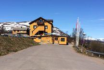 Abisko Guesthouse / Abisko Guesthouse in Abisko, Sweden. Midnight Sun, Nordic Light.