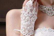 Wedding - rękawiczki
