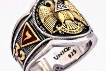 Masonic Rings / Uniqable Art - Masonic Ring