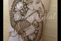 Mehandi tatoo