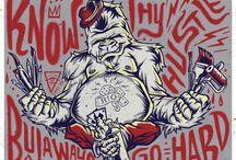 illustration: Graffiti and Hip Hop