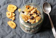 Overnight Oats / #Lecker #Gesund #schnell zubereitet #Rezepte für #Overnight #Oats #Frühstück aus dem #Glas