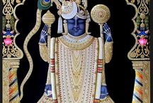 Paintings - Indian Tanjore