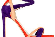 Shoes, Multi Coloured Strappy