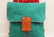 Backpacks / Waxed Canvas Backpacks