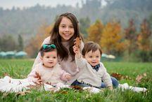Pope, Seba y Antonia / #Baby #familia