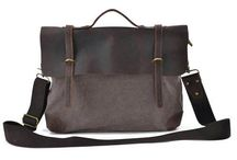 Canvas Messenger Bag / Wanna find more nice canvas messenger bags, follow us, you will meet your own style here.