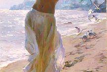 Paintings of woman