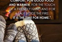 I love winter / Feeling festive, candles, comfies and warmth