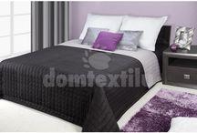 Kvalitné obojstranné prehozy na posteľ
