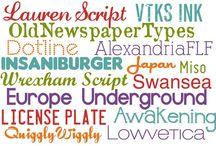 Fontastic / Free Fonts