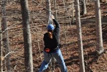 Rawhide Ranch Activities / Rawhide Ranch is located in Brown County, Indiana and has many activities for groups and families including zip lining, horseback riding, and campfire concerts.